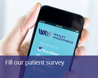Fill our patient feedback survey